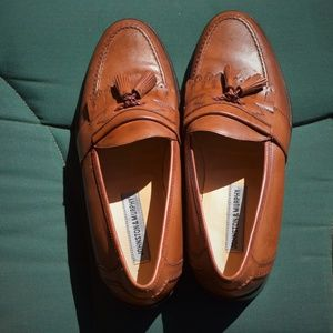 Johnston and Murphy men's 9 1/2 leather loafers